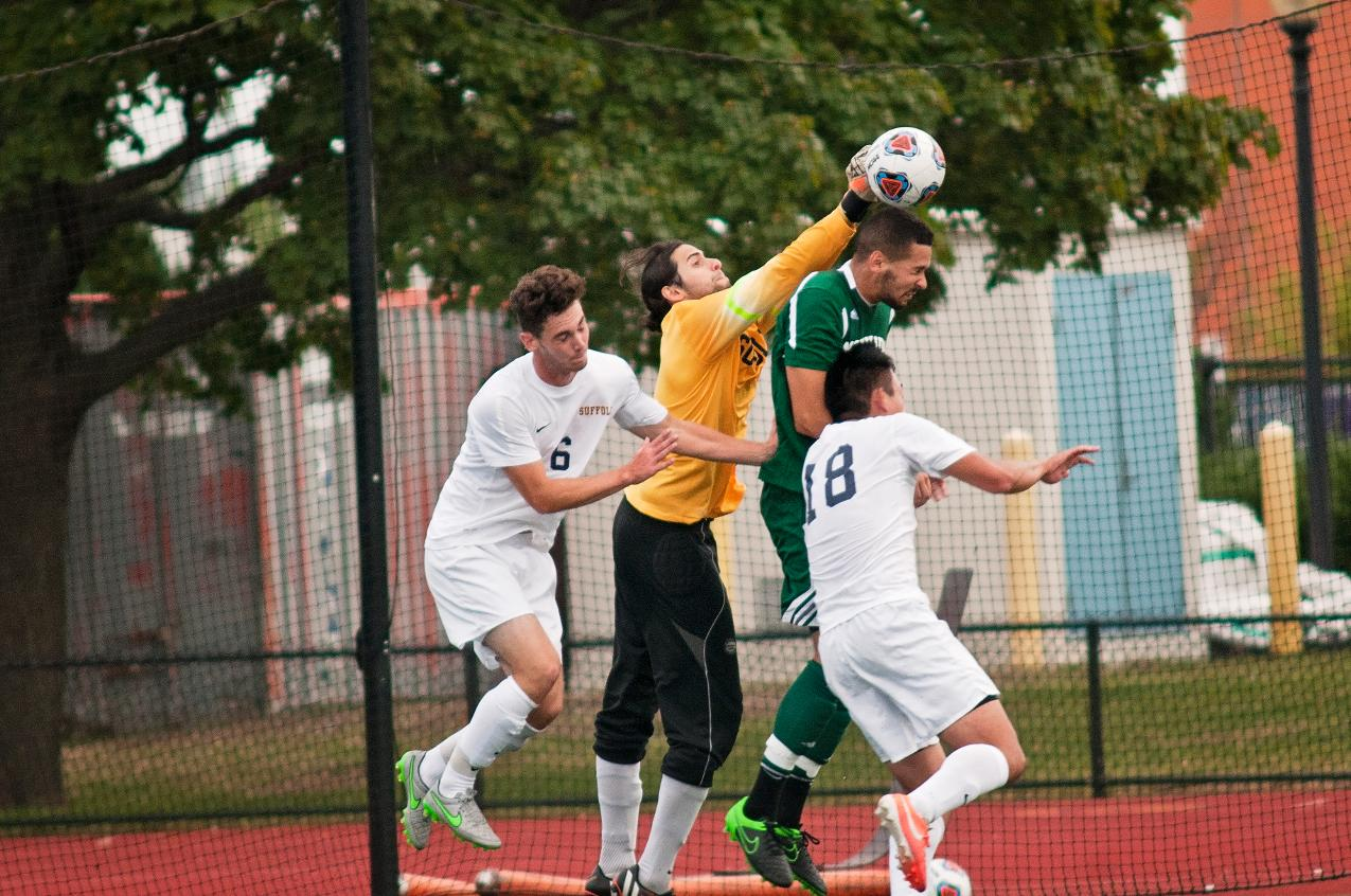 Men's Soccer Entertains Emerson Tonight