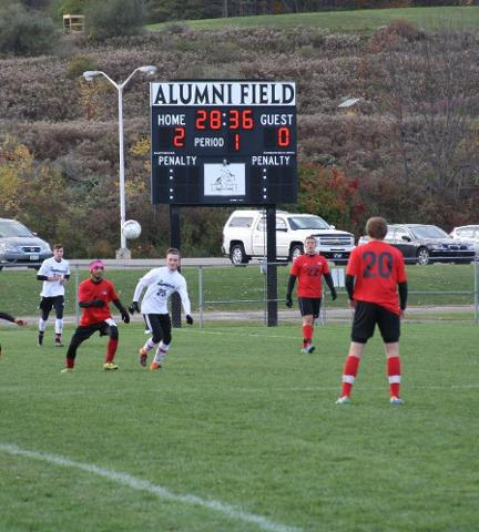 Men's Soccer Wins Fourth In A Row