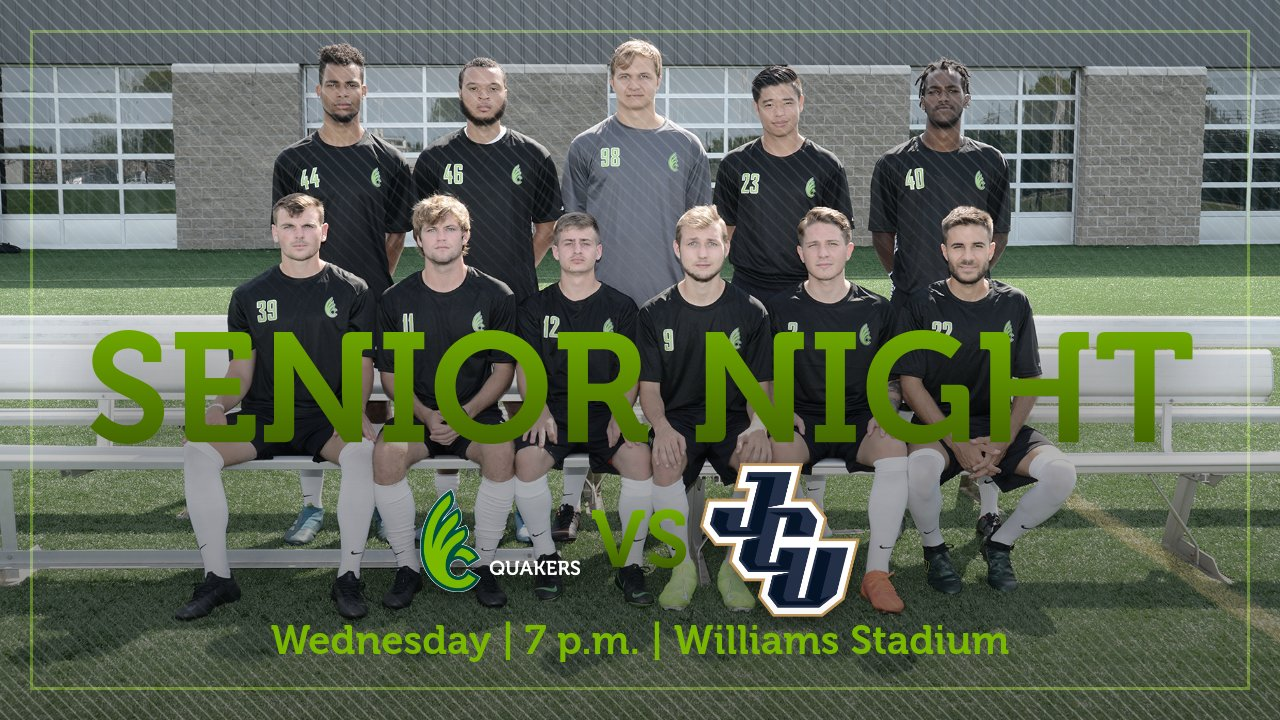 Men's Soccer Hosts John Carroll on Senior Night