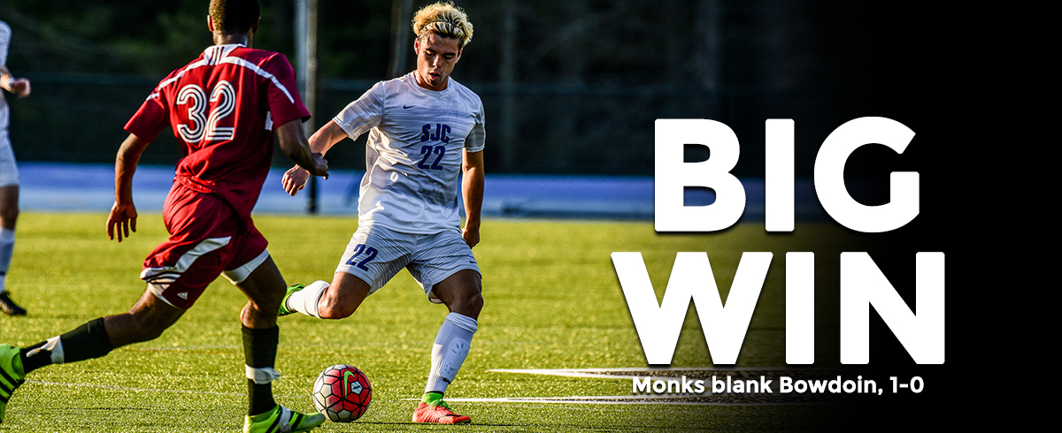 Monks Clip Polar Bears, 1-0