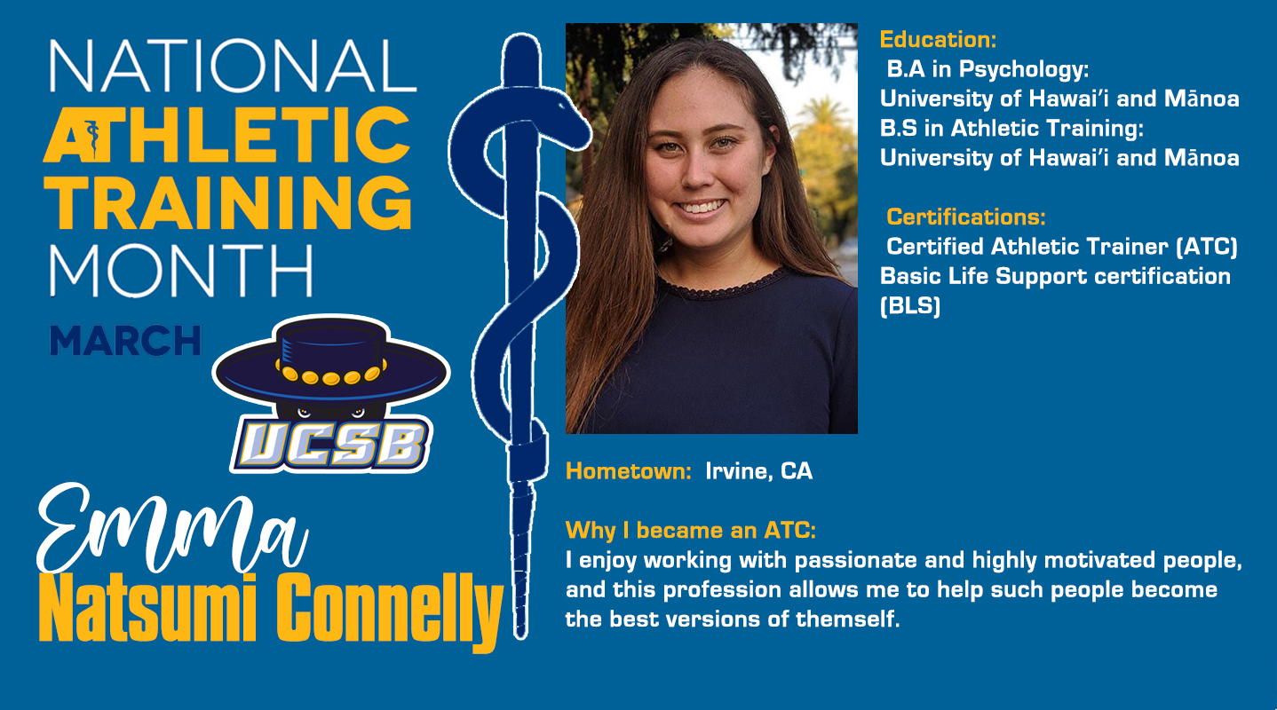 National Athletic Training Month Spotlight: Emma Natsumi Connelly