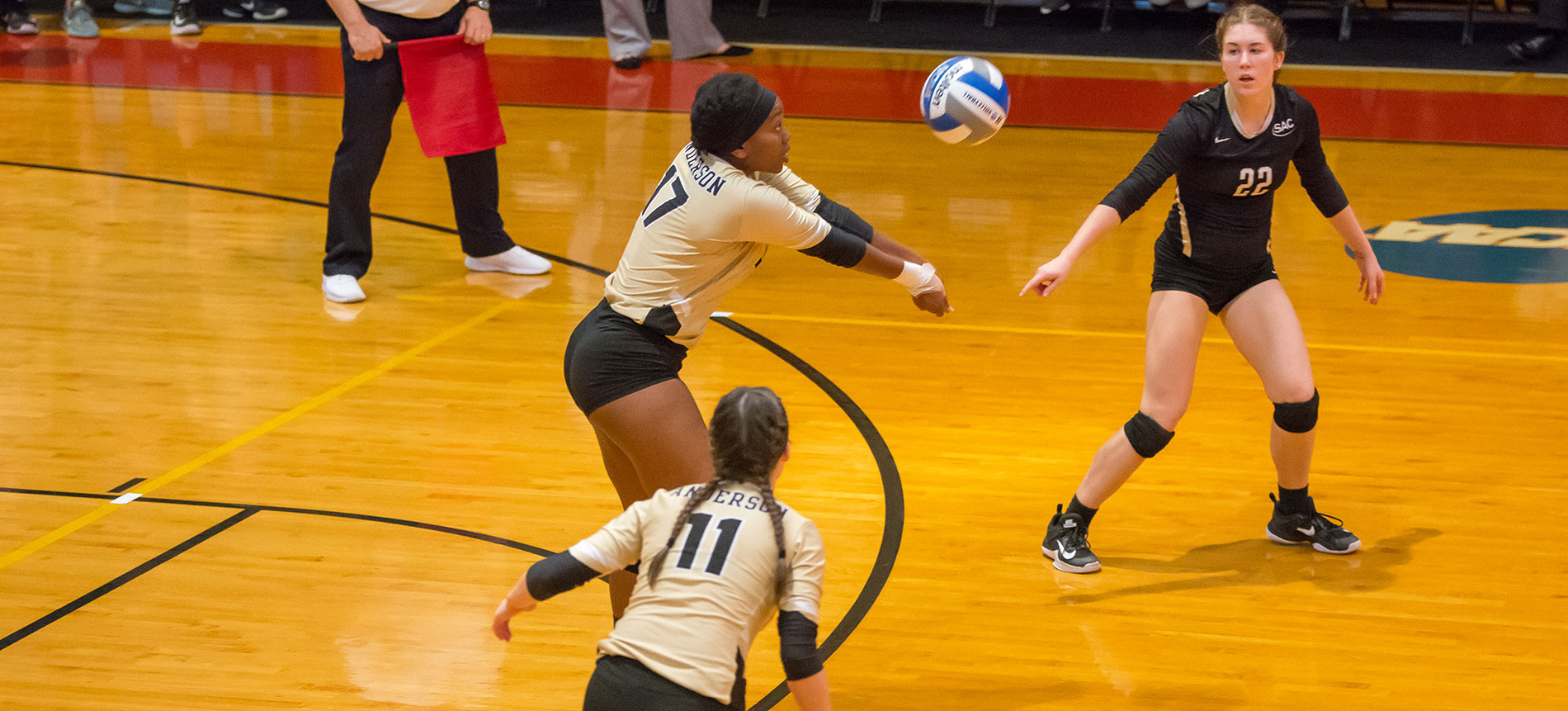 Trojans Sweep Francis Marion for Second Straight Win