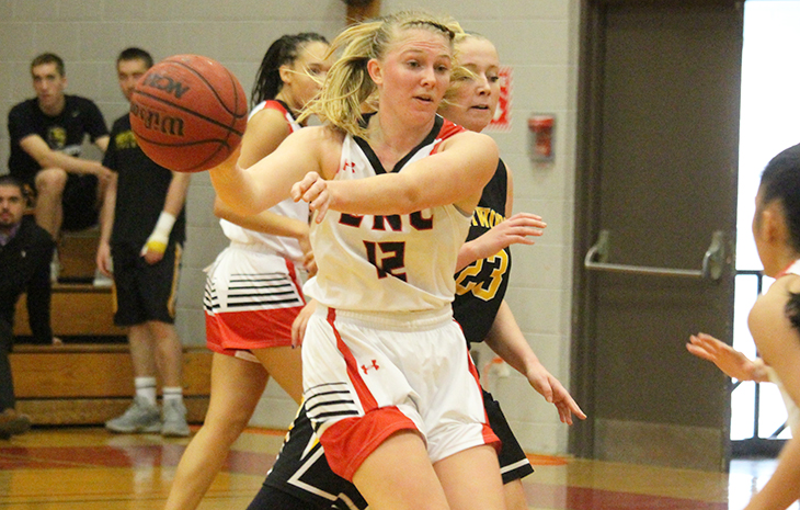 Women's Hoops Triumphs 72-61 Over Wentworth