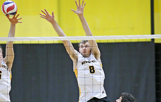 Men's Volleyball Picks Up Second Straight Win