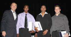 Owens, Johnson And Matthews Honored As Wesley Hosts 2009 Senior Awards Ceremony