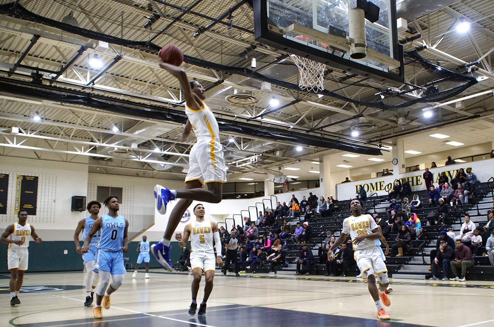 Hawks Snatch Win Away From Owls
