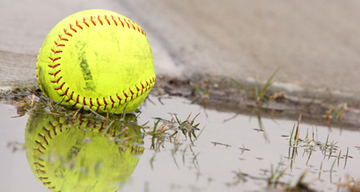 Thursday's softball games postponed