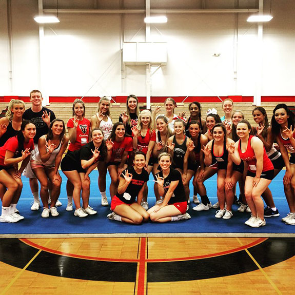 Cheerleading: Tryout and Clinic Info - University of Tampa Athletics