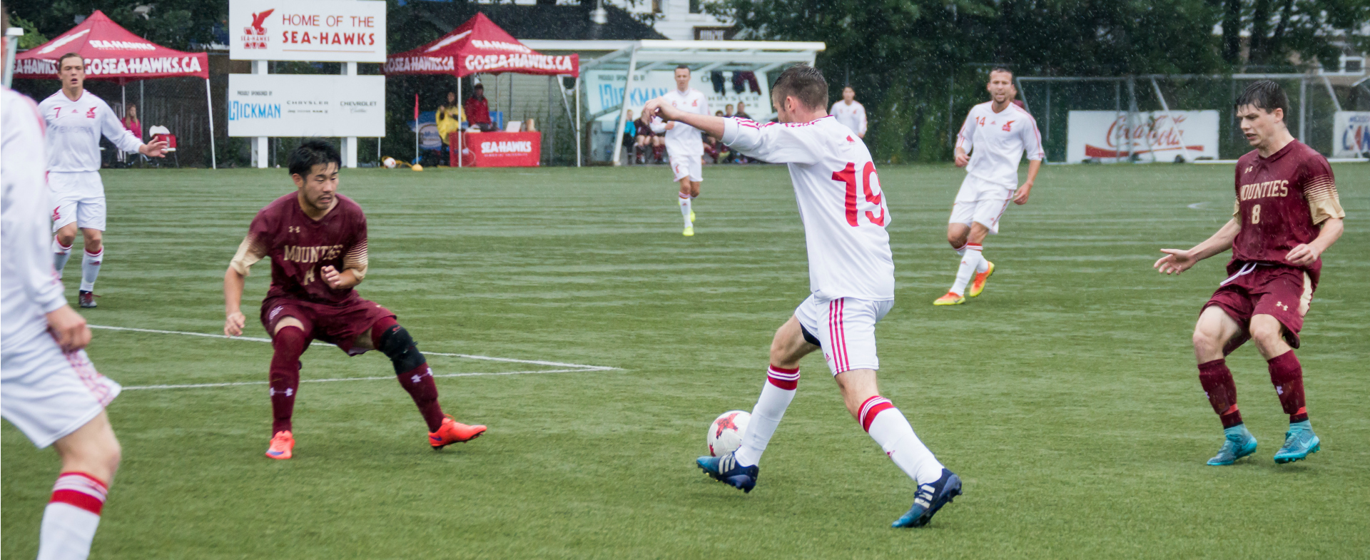 Sea-Hawks Host Varsity Reds in Crucial Series