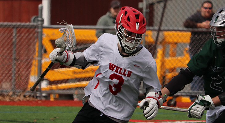 Battle Scores Five In Men's Lacrosse Defeat
