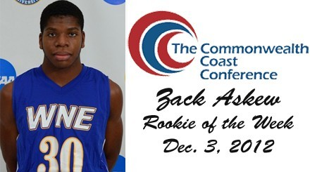 Askew Tabbed CCC Men's Basketball Rookie of the Week