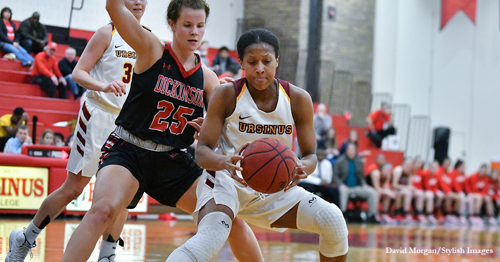 Dynamic Duo Drives Women's Hoops Past Dickinson