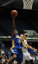 UCSB Blasts Long Beach State, 73-50, Will Play in Semi-Finals on Friday