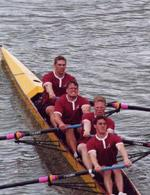 Men's Novice Four Finish Second in Rep at IRA Regatta