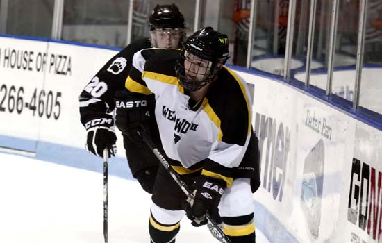 Yarber, Miller Help Hockey Win Third Straight