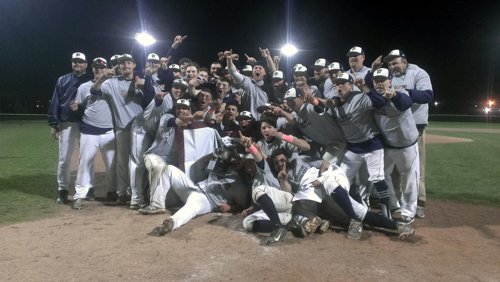 Back to Back: Baseball Claims GNAC Championship
