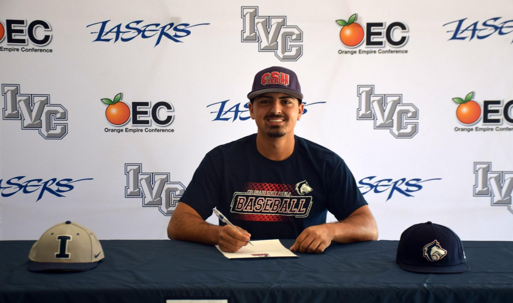 Baseball player Robbie Espinosa signs with CSU-Pueblo
