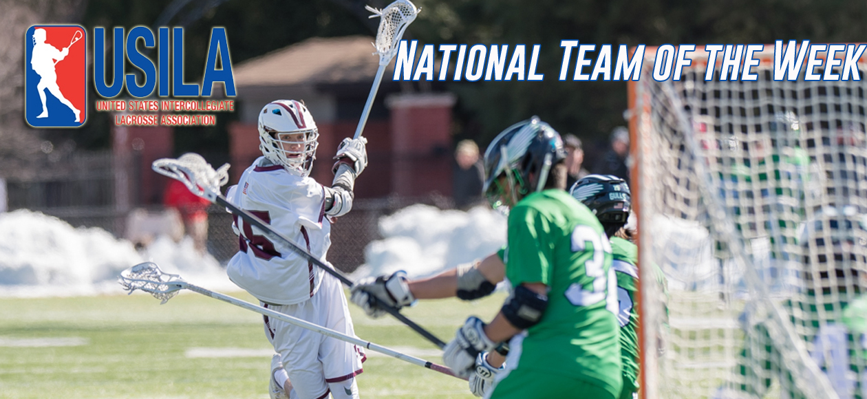 Vail Named to USILA Division III National Team of the Week