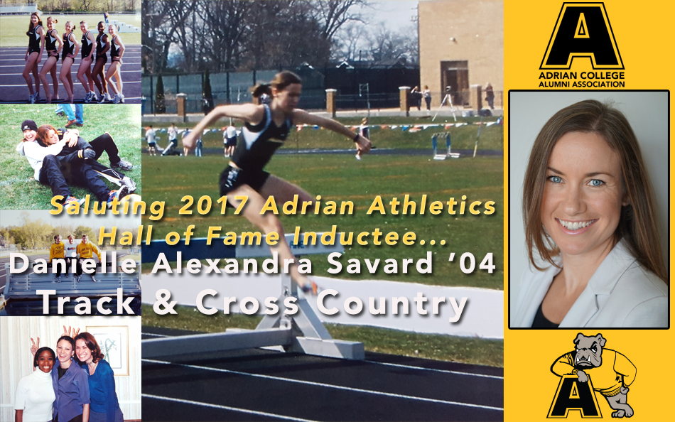 2017 Adrian Athletics Hall of Fame Profile: Women's Track & Cross Country Phenom Danielle Alexandra Hobbs Savard