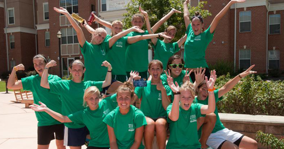 "Bobcat Soccer Joins ""Cat Crew"" on Move-In Day"