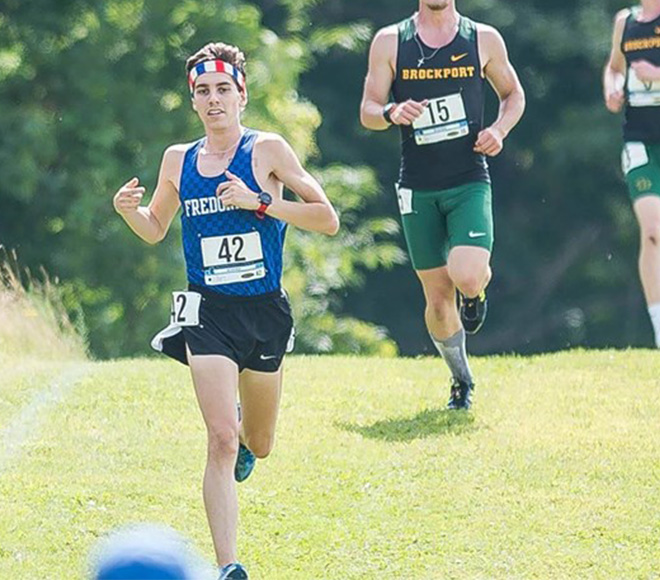 Francis named Men's Cross Country Runner of the Week