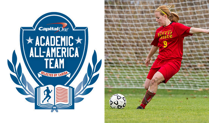 Soccer Senior Amanda Foster Honored As Capital One Academic All-American