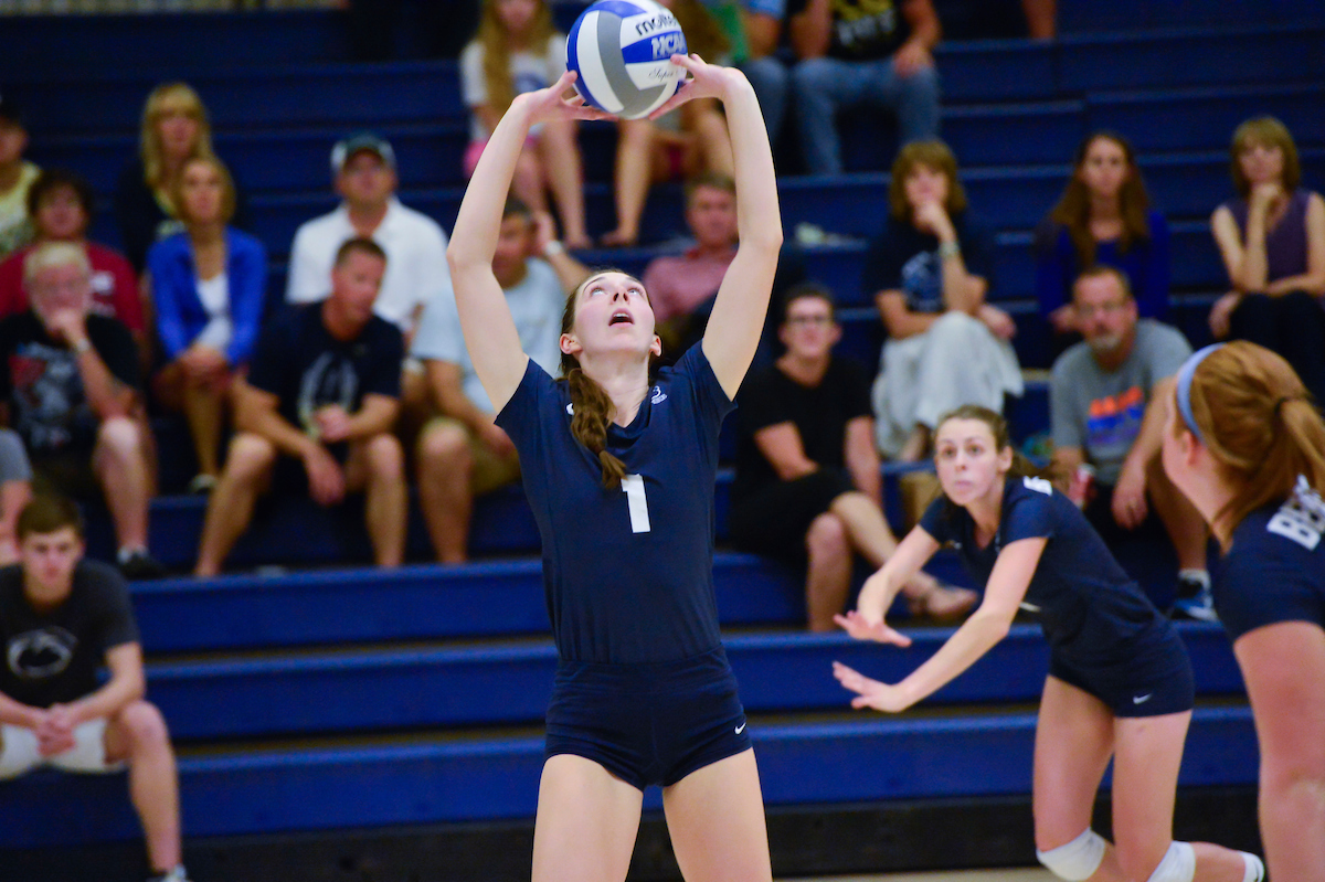 Women's Volleyball Named Lycoming Tournament Champions; Saunders All-Tournament Team