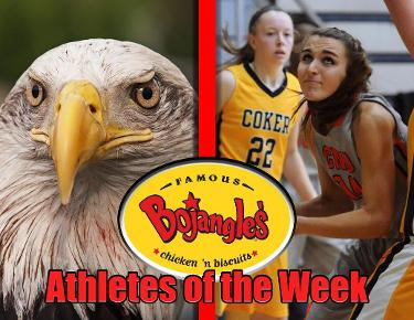 Stepp, Cupples garner Bojangles Athlete of the Week honors