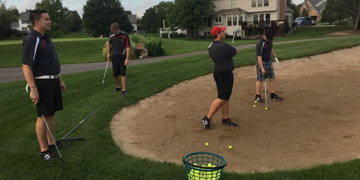 CUAA golfers take practice round at Stonewater Country Club