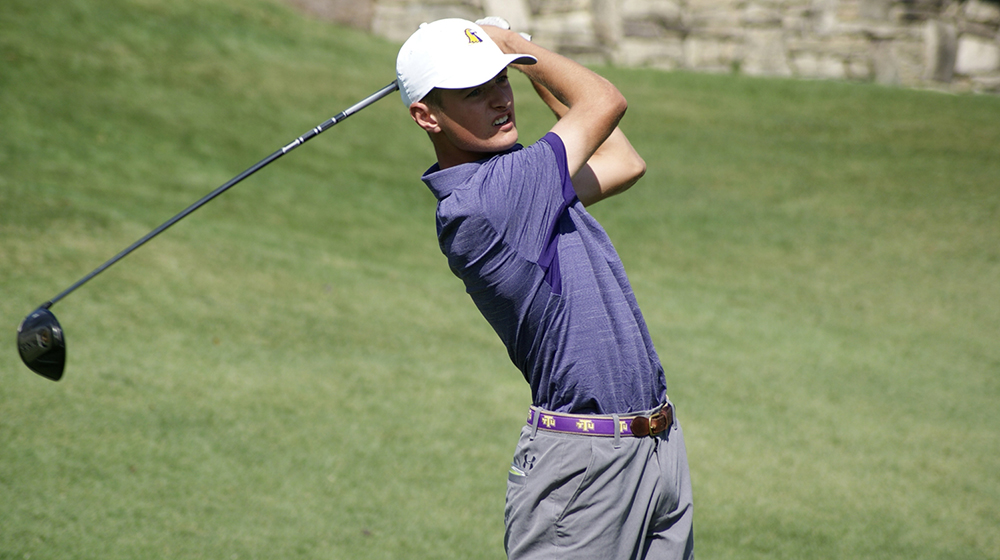 Beeler holds individual lead, Tech men first after first day at Big Blue Intercollegiate