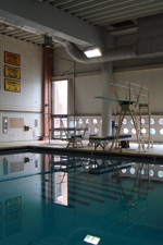The UMBC Natatorium will receive new diving boards