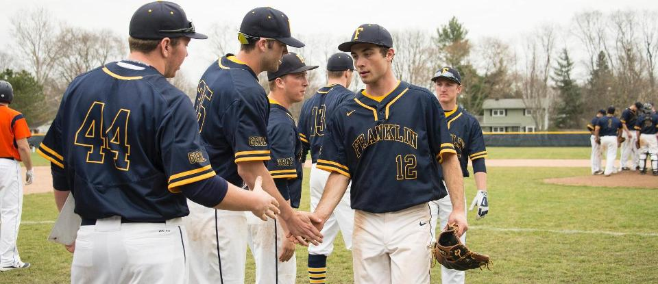 Baseball Team Blasts Way to Second Straight Win
