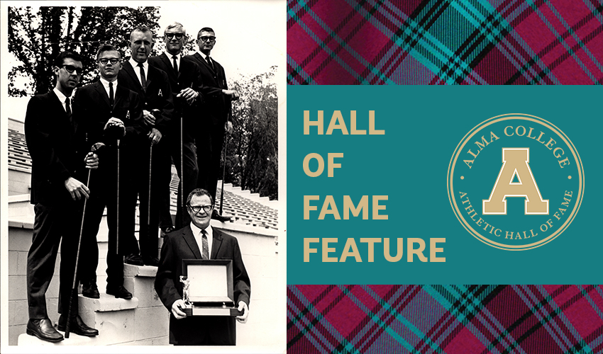 Hall of Fame Feature: 1964 Men's Golf Team