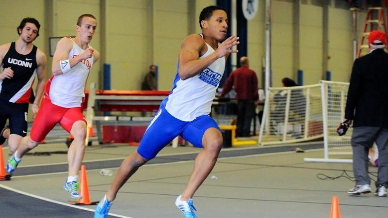 Fruster Competes at Boston University Last Chance Meet