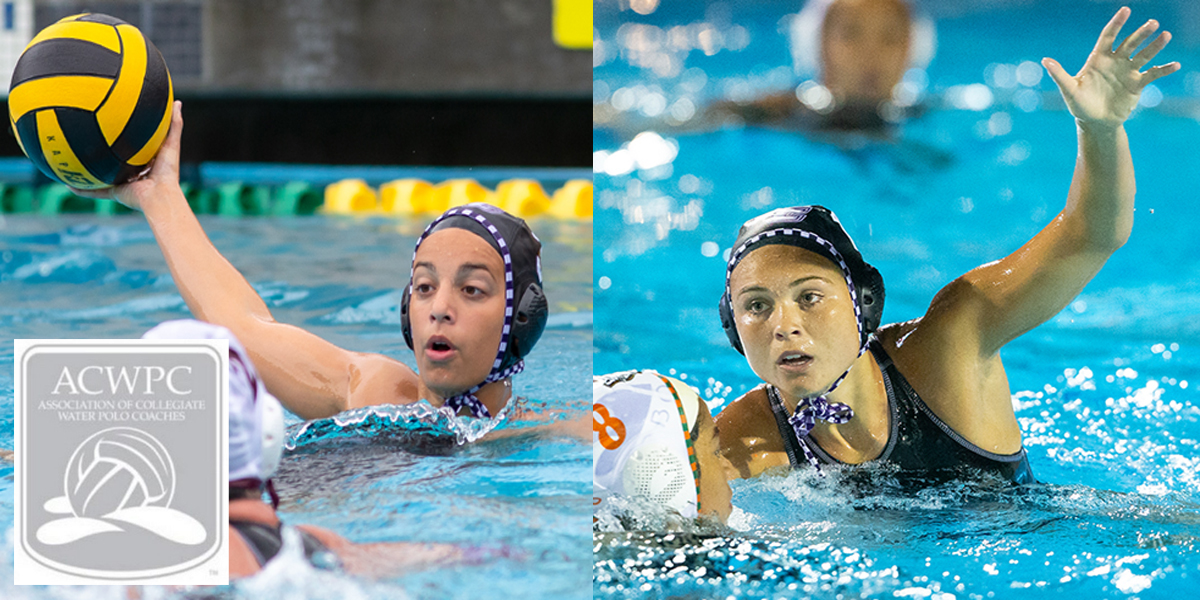 Sawyer Bellville and Teresa Marchetti named ACWPC All-Americans