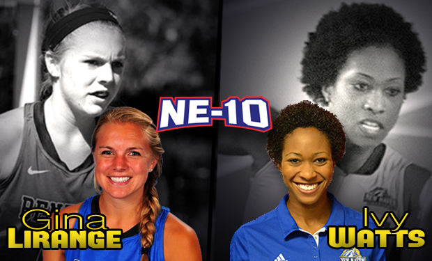 Bentley's Gina Lirange & New Haven's Ivy Watts Selected as NCAA Woman of the Year Top 30 Honorees