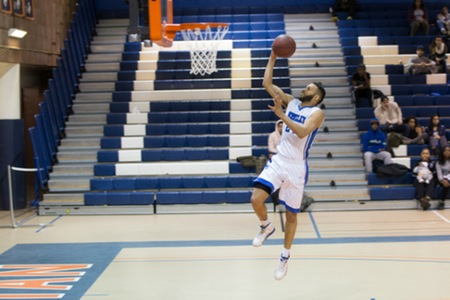 Men's Basketball: Berkeley 104, Vaughn 54