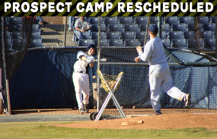 High School Prospect Camp Rescheduled
