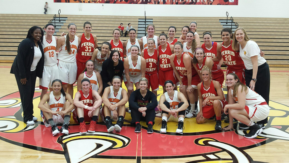 Ferris State Women's Basketball Races Past Former Stars In Alumni Game