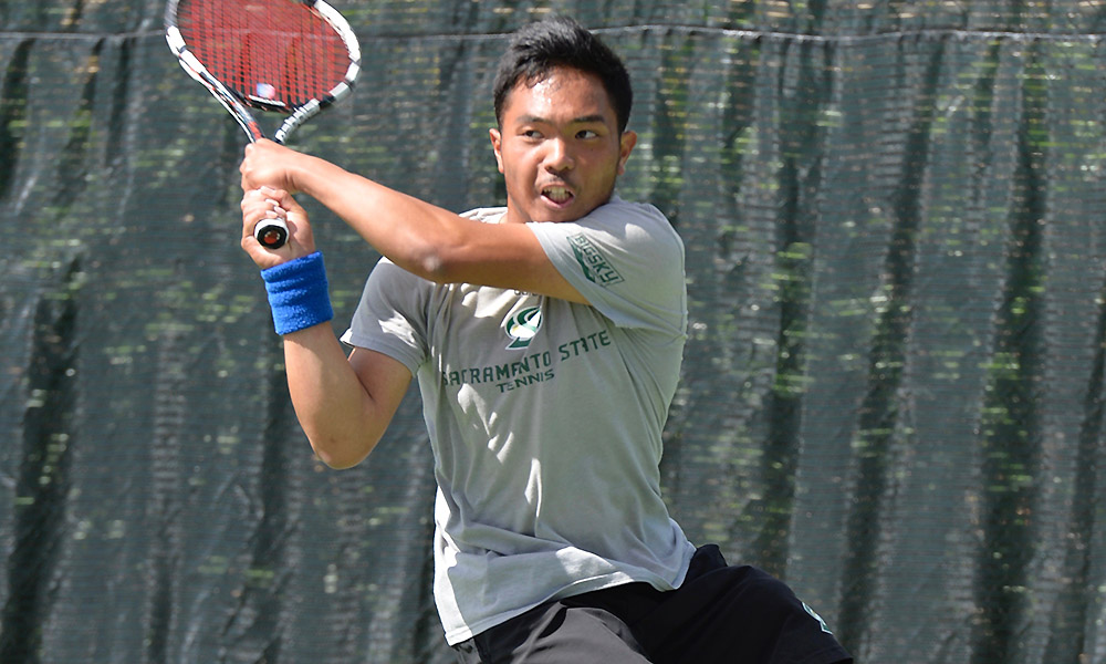 A LOT OF CLOSE MATCHES, BUT MEN'S TENNIS DROPS SEASON OPENER AT UC DAVIS