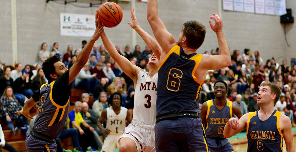 Mounties defeat Clippers in exhibition game tune up before resumption of ACAA league play