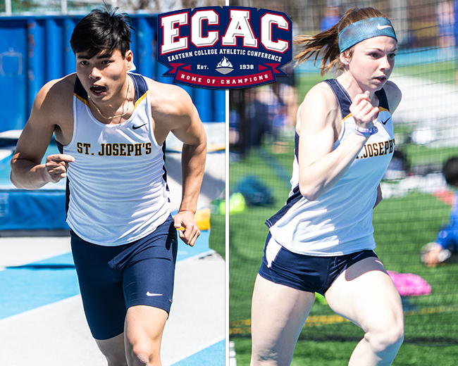 Phan and Holownia Pick Up ECAC Weekly Awards