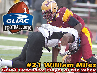FSU's Miles Picks Up GLIAC Weekly Recognition