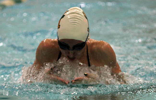 Eagles Set New Points Record At 2015 GNAC Championships; Sarett Wins Two Events