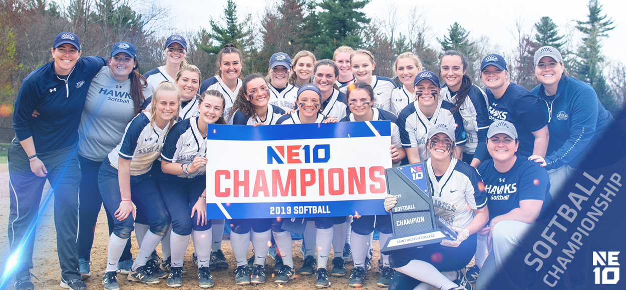 Embrace the Championship: Saint Anselm Edges Adelphi in Softball Championship for the Ages