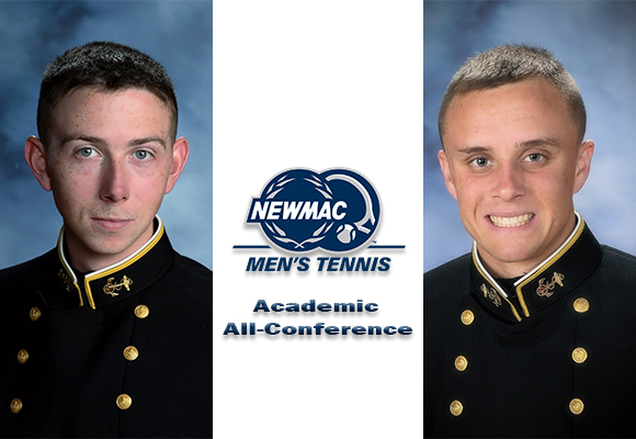 Wicke, Lansing Named to NEWMAC Men's Tennis Academic All-Conference Team