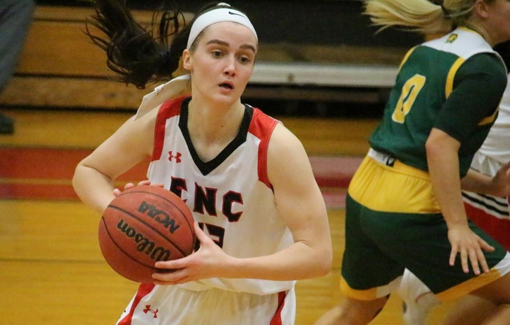 Stevie Orton Repeats as NECC Women's Basketball Player of the Week