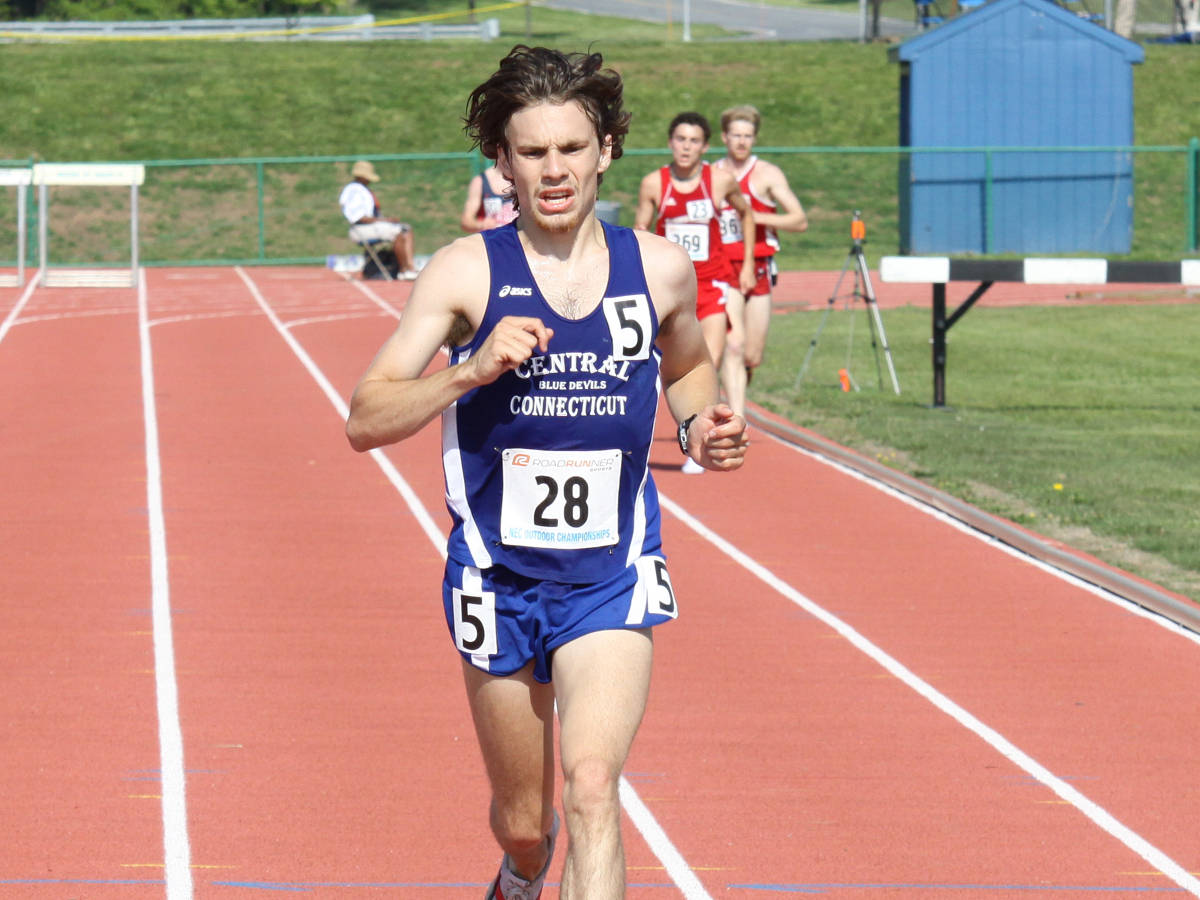 Hrezi and Alexander Set School Records at IC4A's