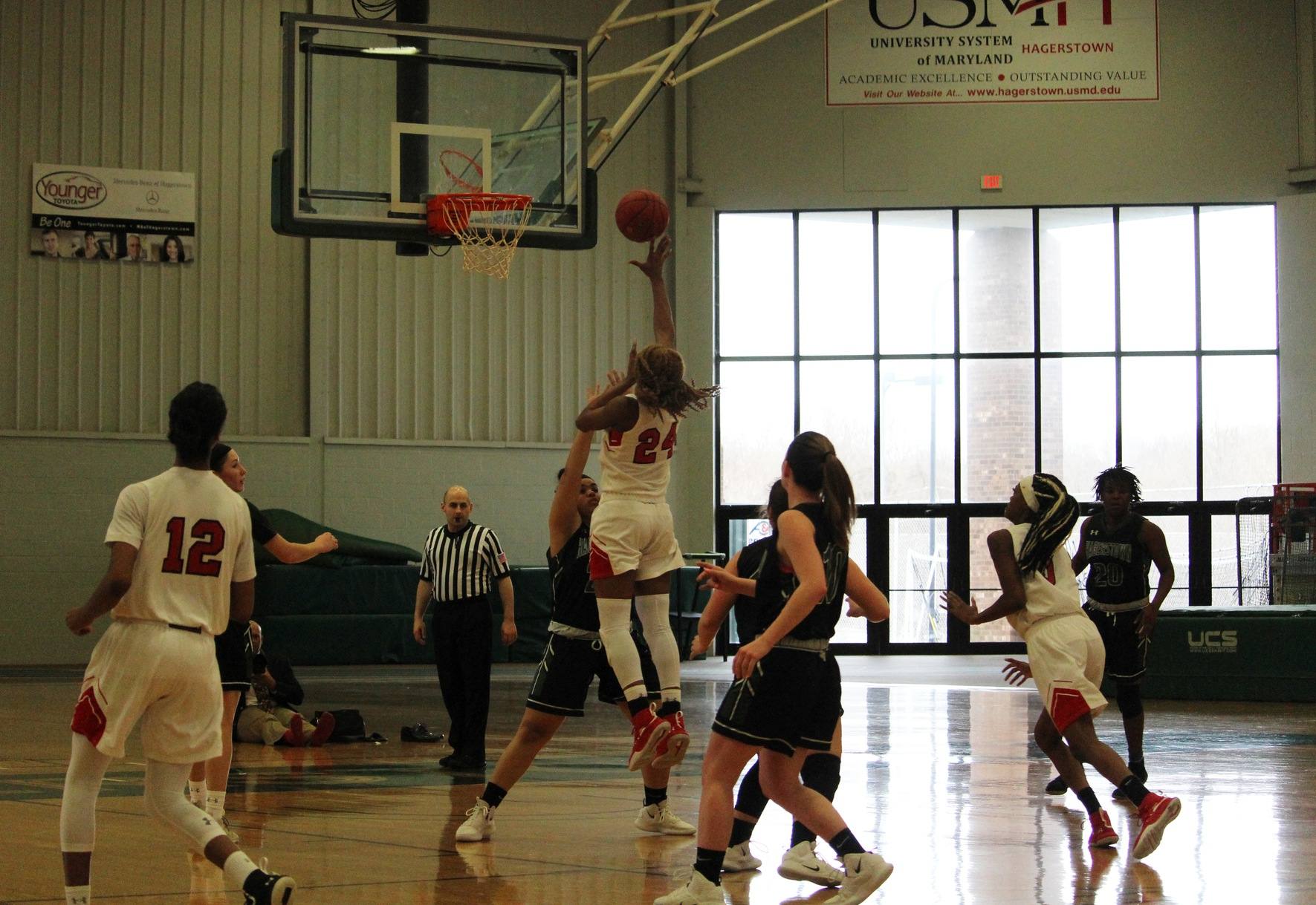 MDJUCO Women's Basketball Tournament: #2 Baltimore City Handles #7 Hagerstown 74-50