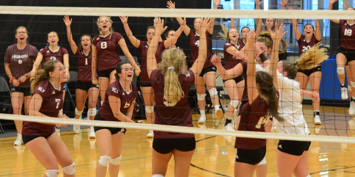 Evangel Volleyball Finishes Perfect Preseason Classic With Sweep